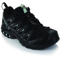 Salomon Women's XA Pro 3D Shoe  -  black-aqua