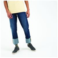Jordy Men's Straight Cut Denims -  midblue