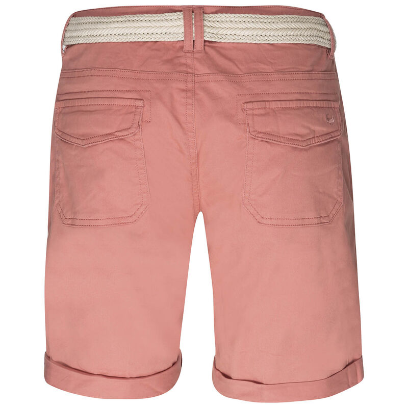 Old Khaki Callia Women's Belted Shorts -  salmon