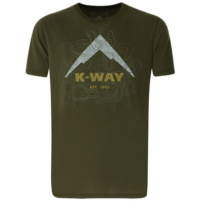 K-Way Men's Contours T-Shirt S20