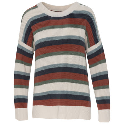 Jojo Women's Striped Pullover