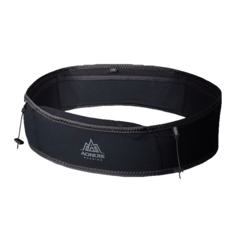 Aonijie Elasticated Waist Belt -  black
