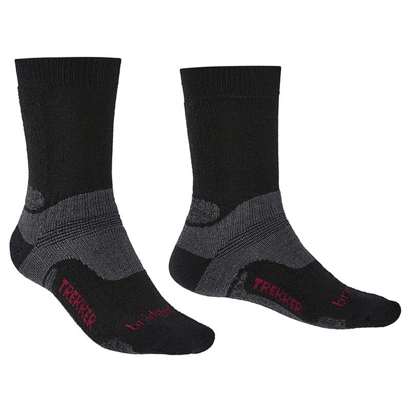 Bridgedale Men's Hiking Midweight Endurance Sock -  black