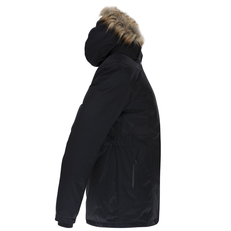 K-Way Women's Andee Padded Coat -  black-plum