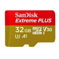 Sandisk Micro SDHC Extreme Plus 32GB -  nocolour