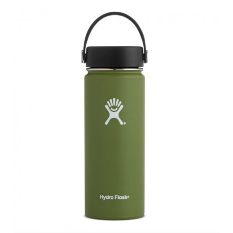 Hydroflask 532ml Wide Mouth Flask -  green