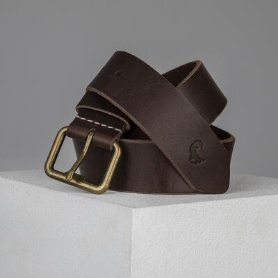 Old Khaki Alvin Leather Belt