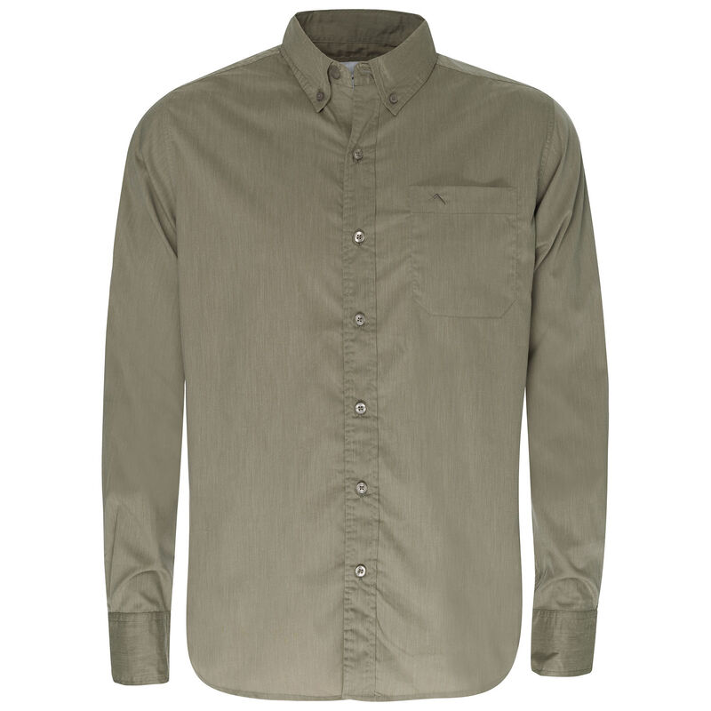 K-Way Men's Explorer Rawda Long Sleeve Shirt -  taupe