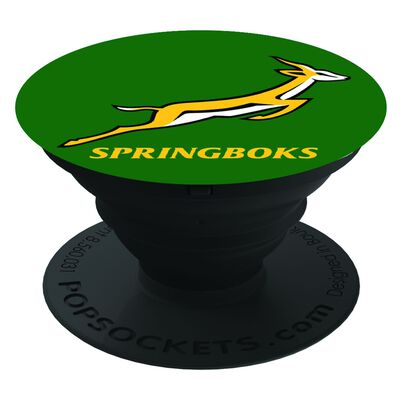 Springboks Green Pop Socket