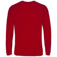 K-Way Men's Straus '19 Crewneck Fleece  -  red