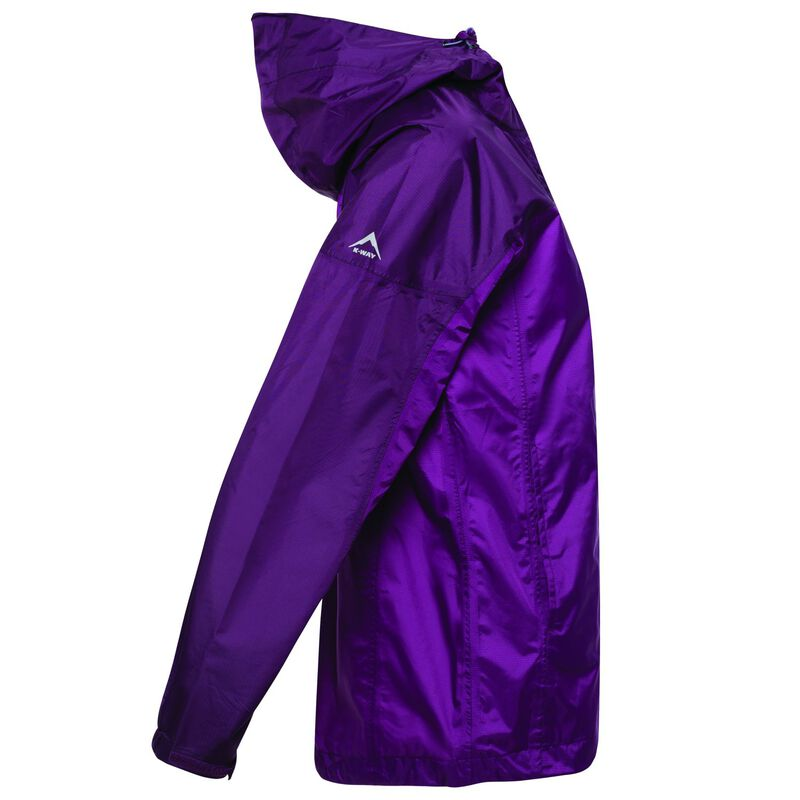K-Way Women's Cloudburst Jacket -  plum-berry