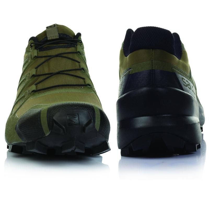 Salomon Men's Speedcross 5 Shoes -  olive-black