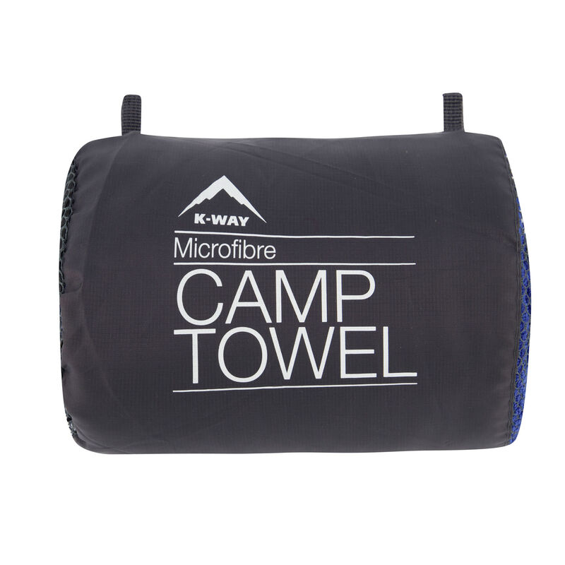 K-Way Camp Towel XL -  blue