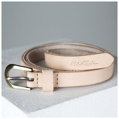 Anna Basic Leather Belt