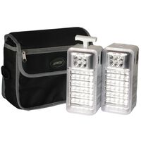 Ultratec Multi-Function Two-Piece LED Emergency Lamp Kit AC/DC -  white