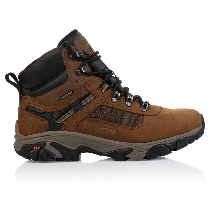 Hi-Tec Men's Ravus Quest Lux Boot -  brown-brown