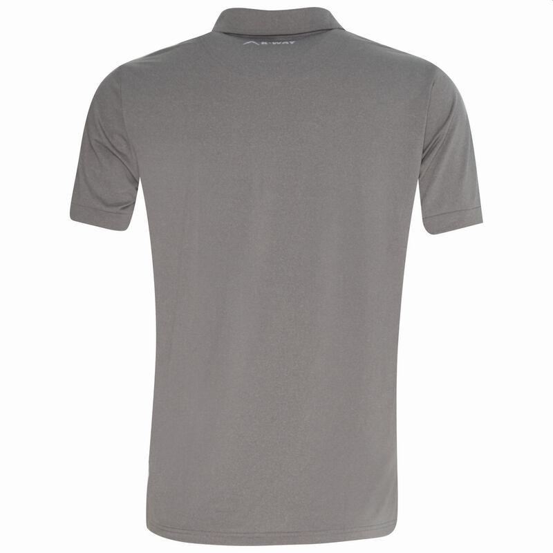 K-Way Men's Leith Golfer -  grey-charcoal