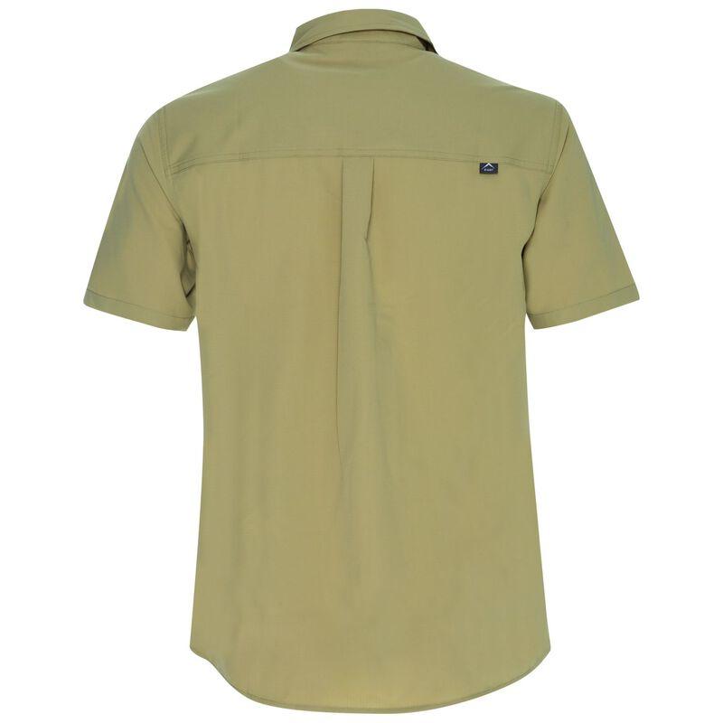 K-Way Men's Explorer Geoff Short Sleeve Shirt  -  khaki