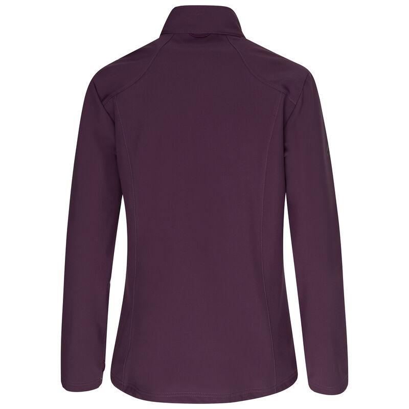 K-Way Women's Cove Eco Softshell Jacket  -  plum