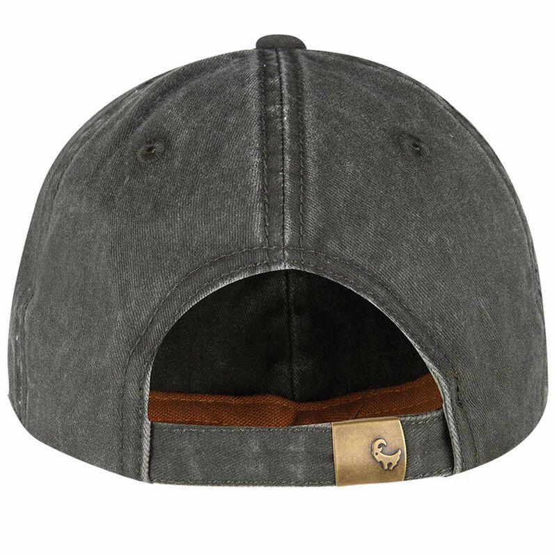 Old Khaki Men's Otto Colourblock Leather Badge Peak Cap -  dc7822
