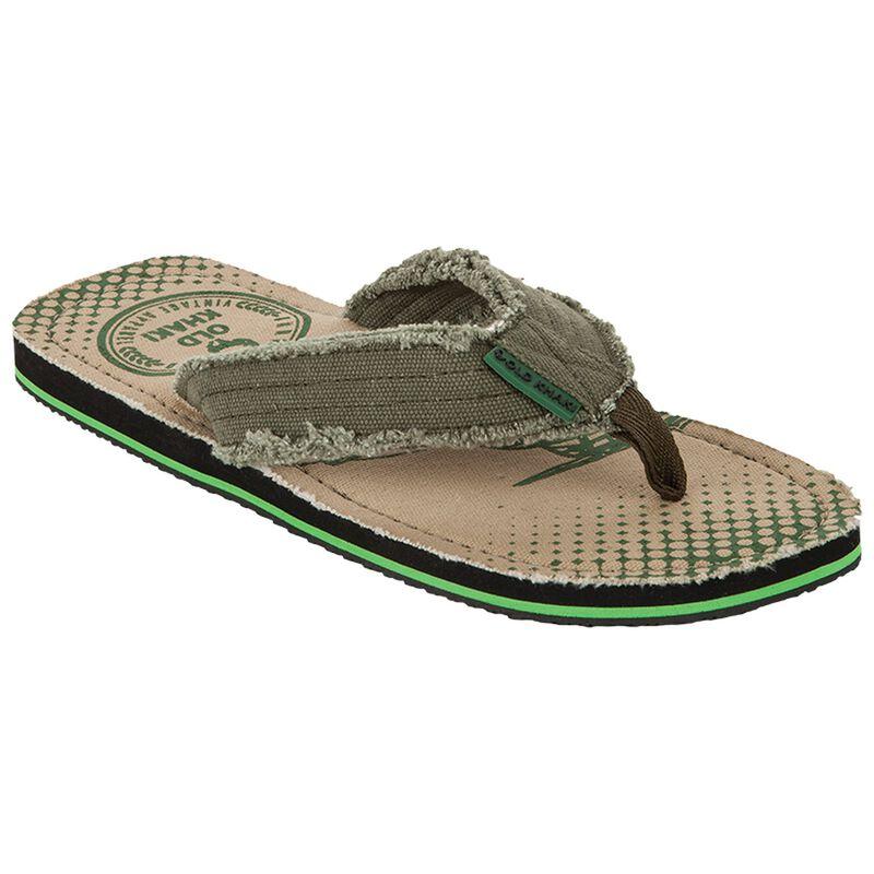 Old Khaki Men's Beachcomber Thong Sandal -  khaki
