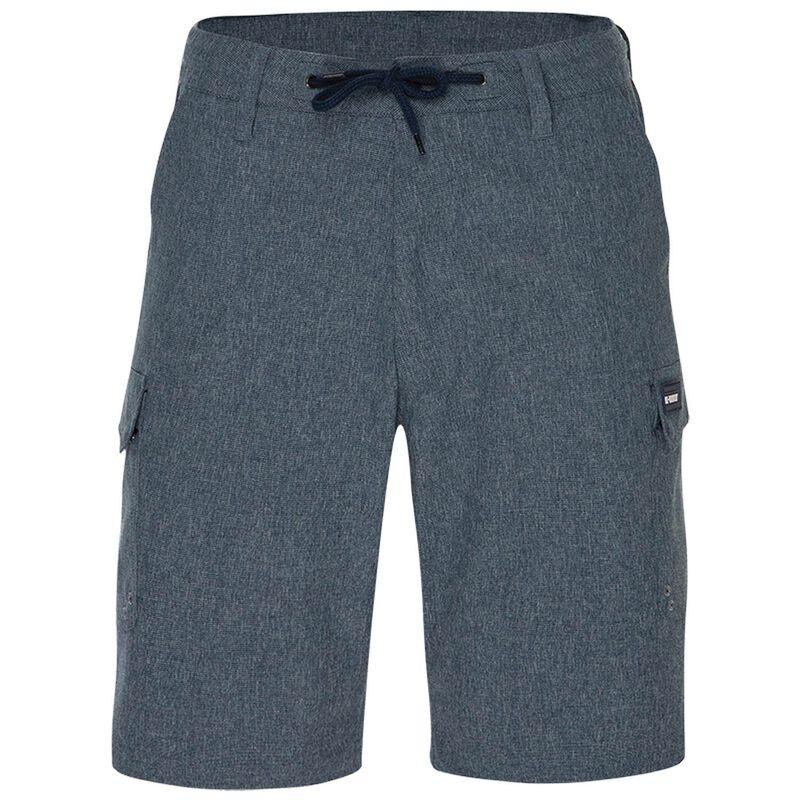 K-Way Men's Explorer Rambler Hybrid Shorts -  midblue
