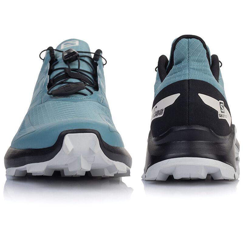 Salomon Men's Supercross Blast Shoe -  lightblue-white