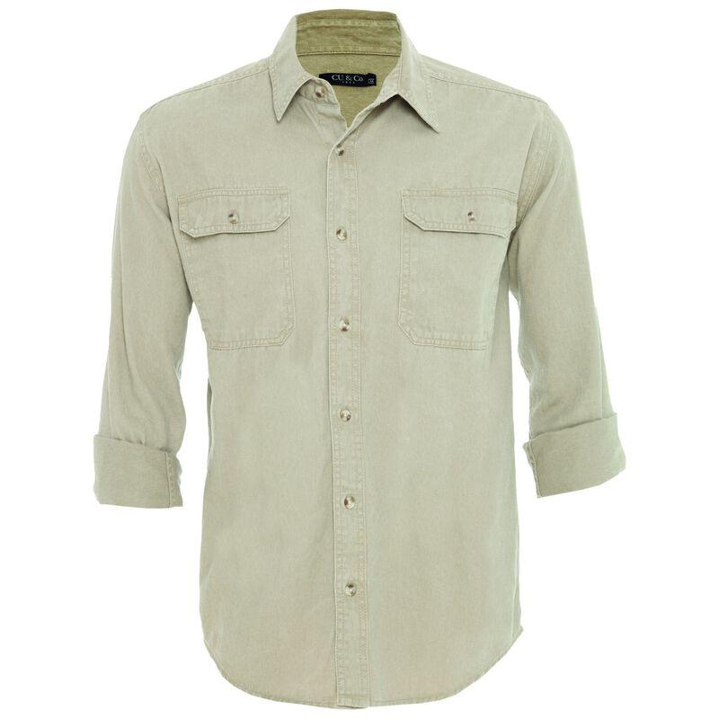 CU & Co Men's Dexter Shirt -  stone-stone