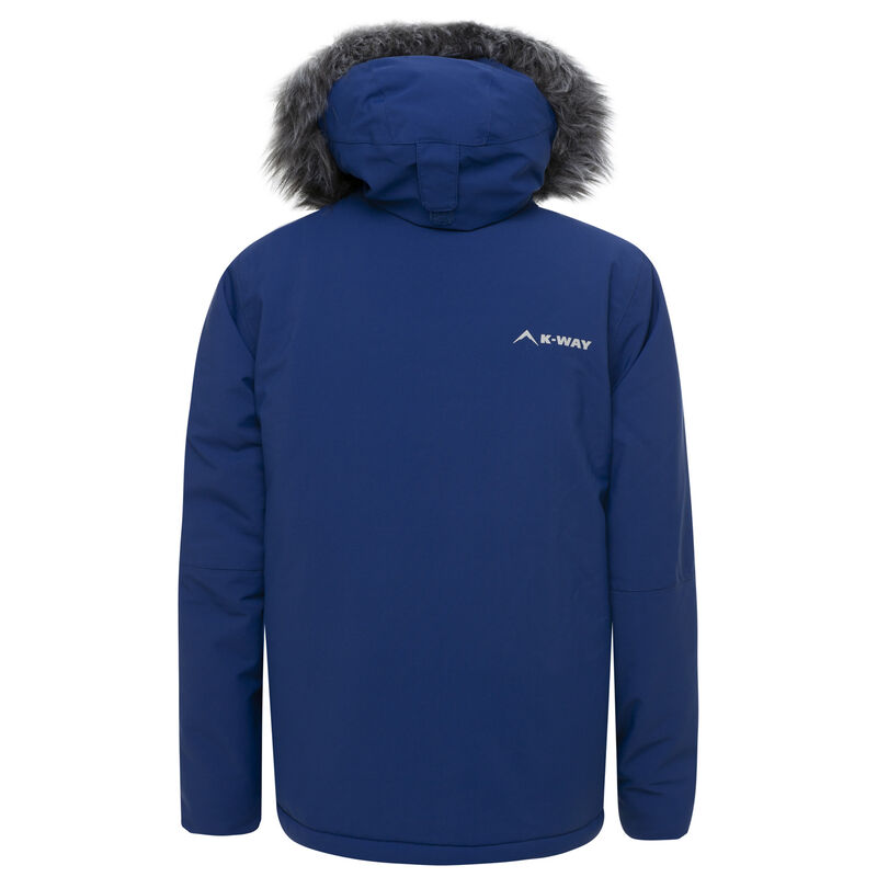 K-Way Youth Yuki Ski Jacket  -  cobalt-tomato