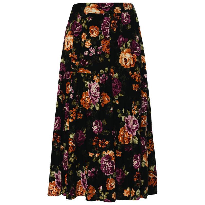 Old Khaki Women's Tallie Skirt -  black-assorted