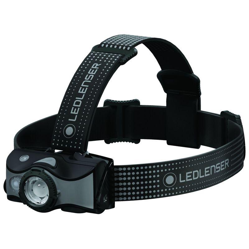 LEDLenser MH7 Rechargeable Headlamp  -  grey