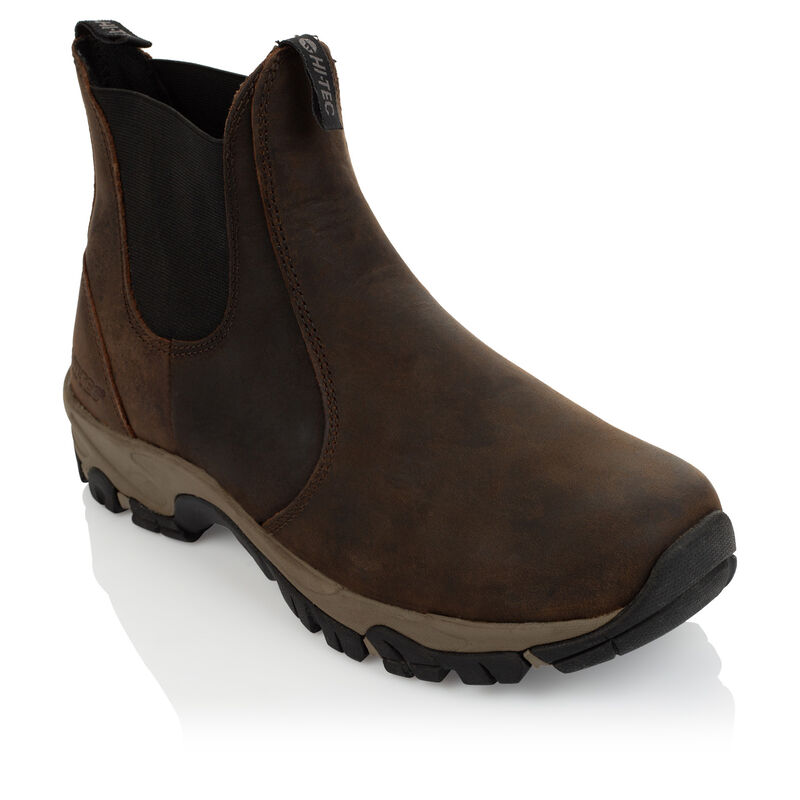 Hi-Tec Men's Altitude Ultra Chelsea Boot -  chocolate-black
