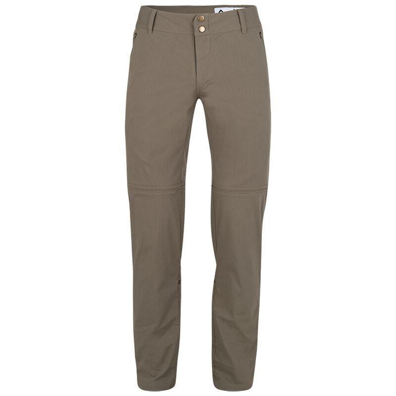 K-Way Women's Peri Zip-Off Trousers -  khaki