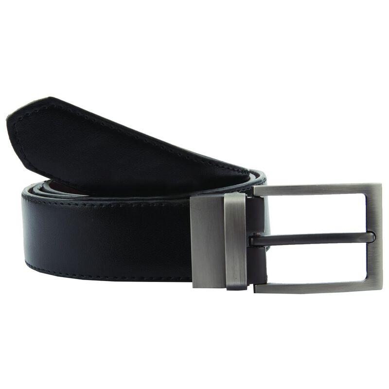 Arthur Jack Men's Benton Reversible Belt  -  black-brown