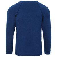 K-Way Men's Thermalator Elite Long Sleeve Vest  -  indigo