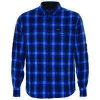 K-Way Men's Explorer Venture Long Sleeve Shirt -  royal-navy