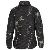 K-Way Women's Printed Tundra Down Jacket -  olive-jade