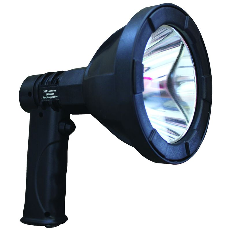 GamePro Asio Rechargable 300 AC/DC Spotlight -  black