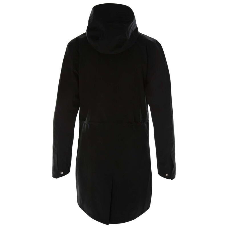 K-Way Women's Kitlyn Raincoat -  black