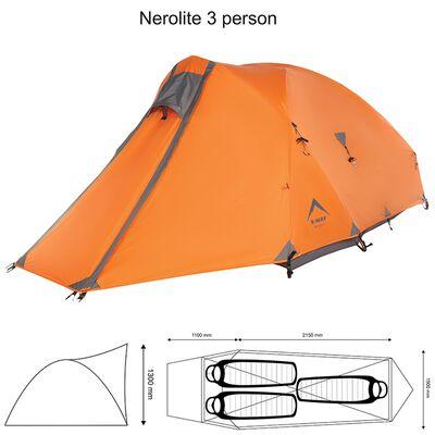 K-Way Nerolite 3 Person Tent