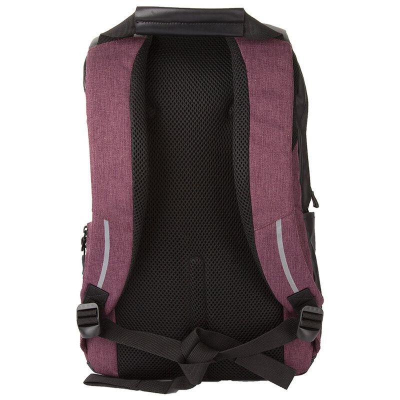 K-Way Shuttle Laptop Bag -  burgundy-black