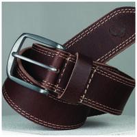 Old Khaki Men's Kaleb Edge Stitch Leather Belt -  brown