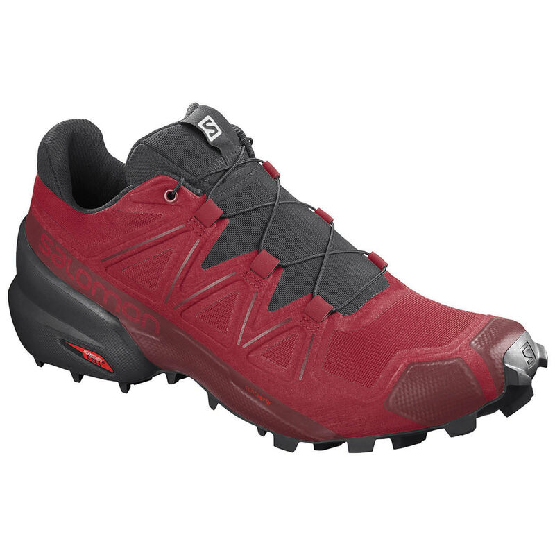 Salomon Men's Speedcross 5 Shoe -  red-black