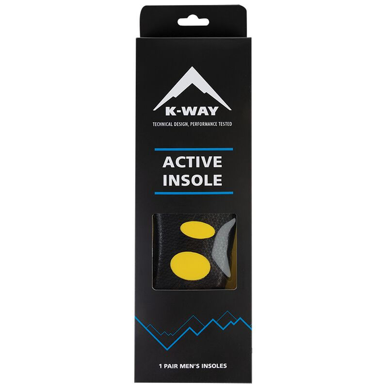 K-Way Men's Active Insole -  nocolour