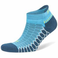 Balega Silver No Show Sock -  turquoise