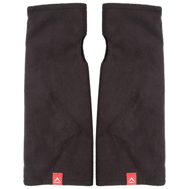 K-Way North Fleece Handwarmers -  black