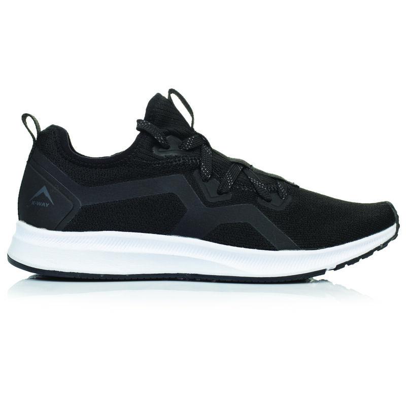 K-Way Women's Urban Lite Shoe  -  black-white