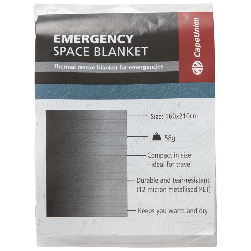 Cape Union Space Blanket -  nocolour
