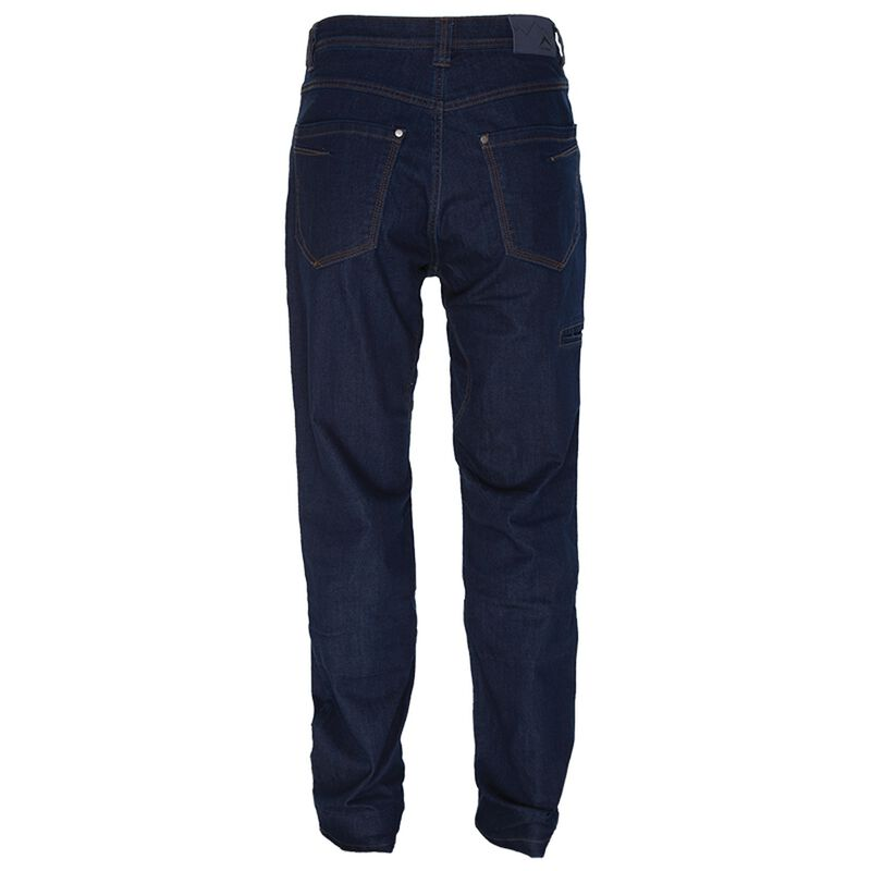 K-Way Men's Explorer Crag Tech Denim  -  navy