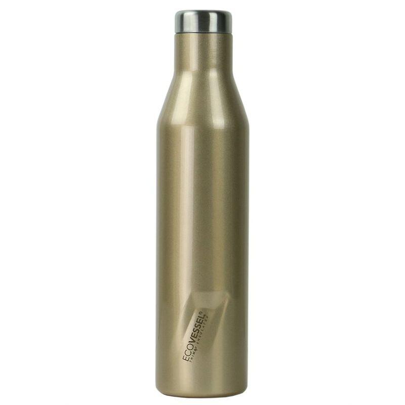 Ecovessel 750ml Aspen Flask -  gold